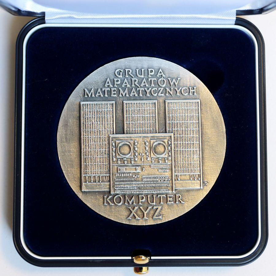 srebrny medal 70-lecia