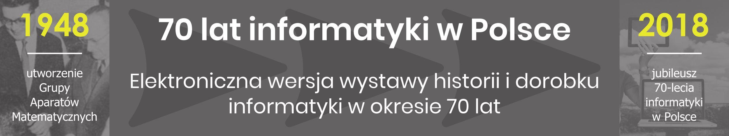 Obchody 70-lecia infromatyki w Polsce